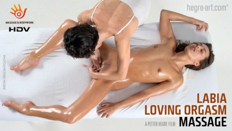 Labia Loving Orgasm Massage With Fabi and Dominika